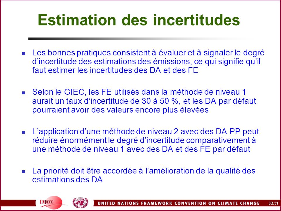 Estimation des incertitudes