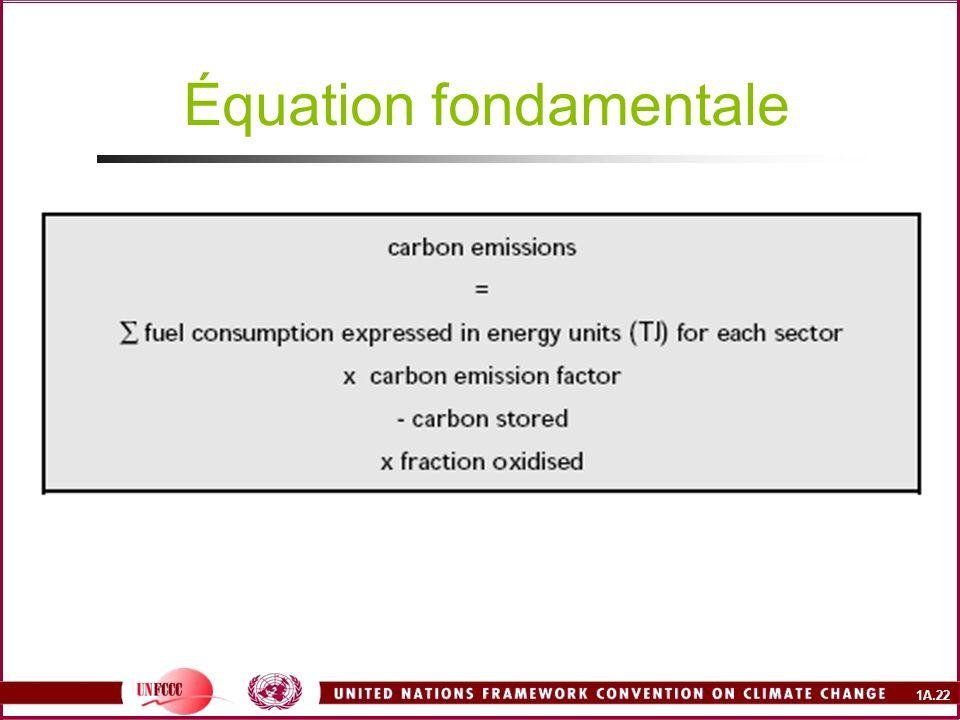 Équation fondamentale
