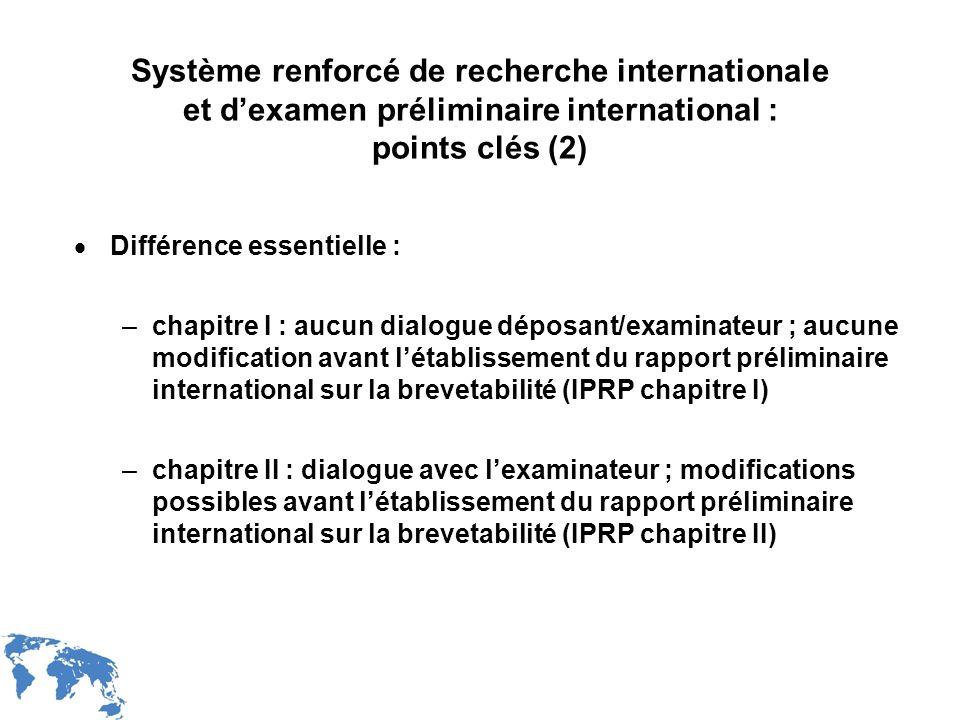 Système renforcé de recherche internationale et d'examen préliminaire international : points clés (2)