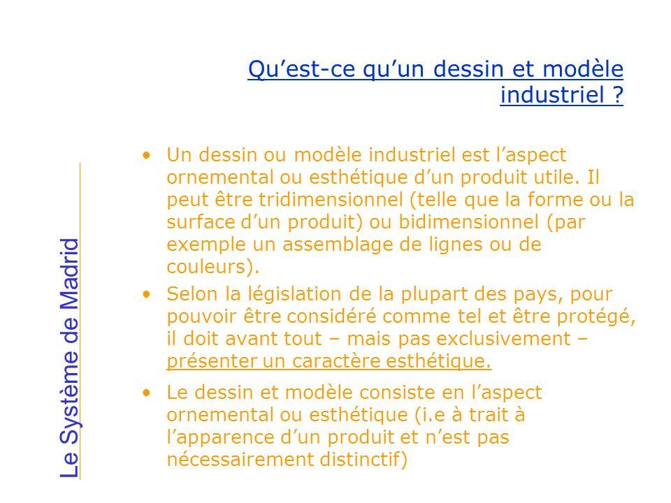 Qu'est-ce qu'un dessin et modèle industriel