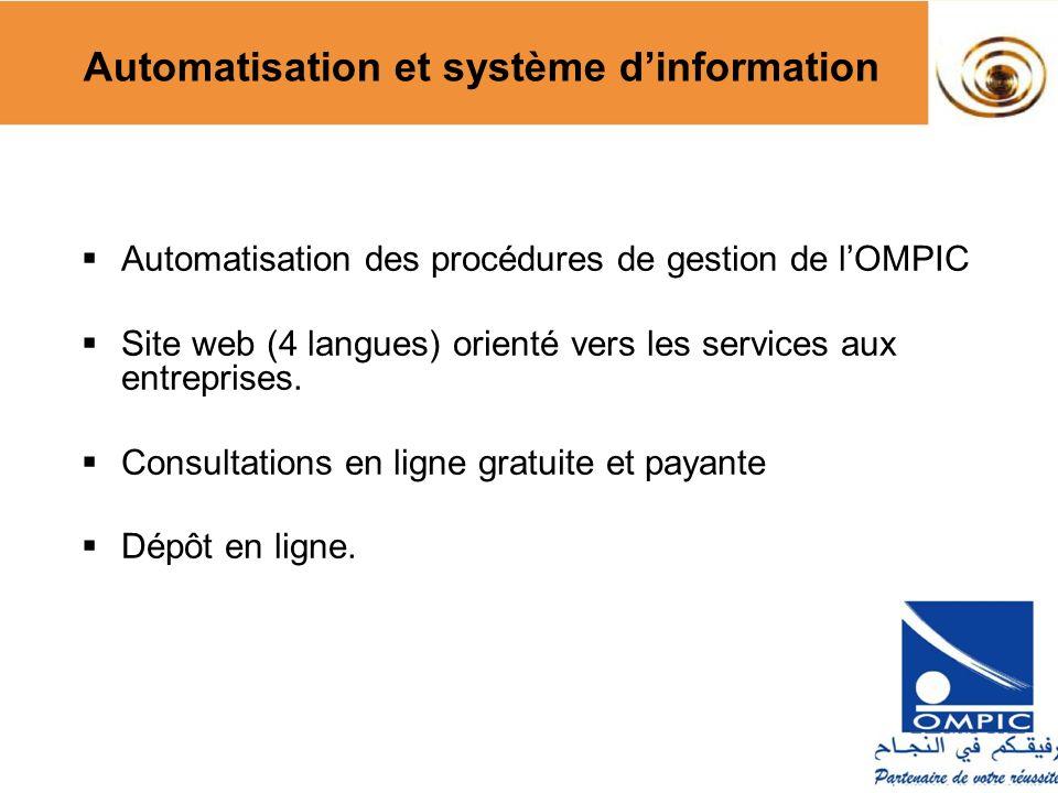 Automatisation et système d'information
