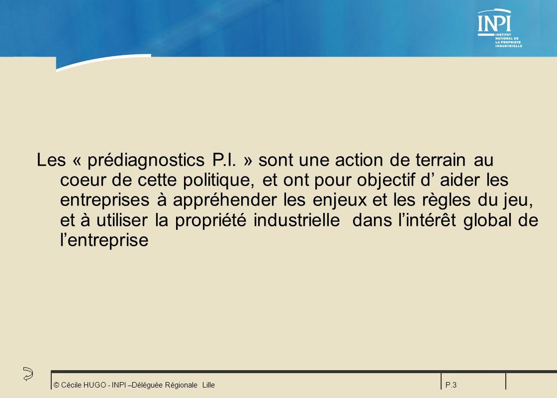 Les « prédiagnostics P. I