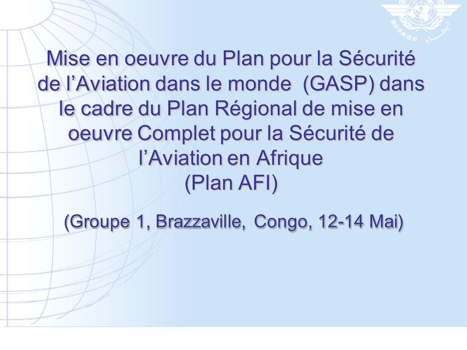 (Groupe 1, Brazzaville, Congo, 12-14 Mai)