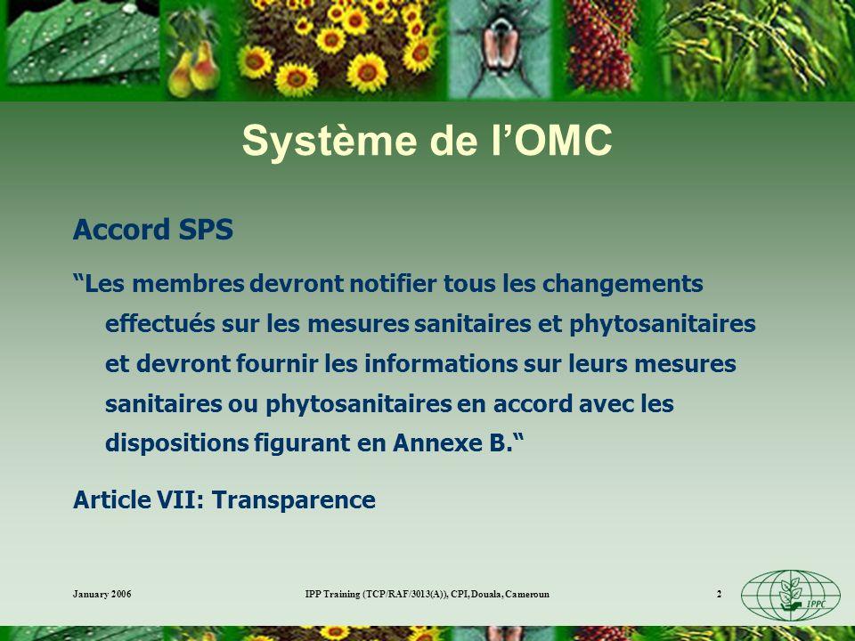 IPP Training (TCP/RAF/3013(A)), CPI, Douala, Cameroun