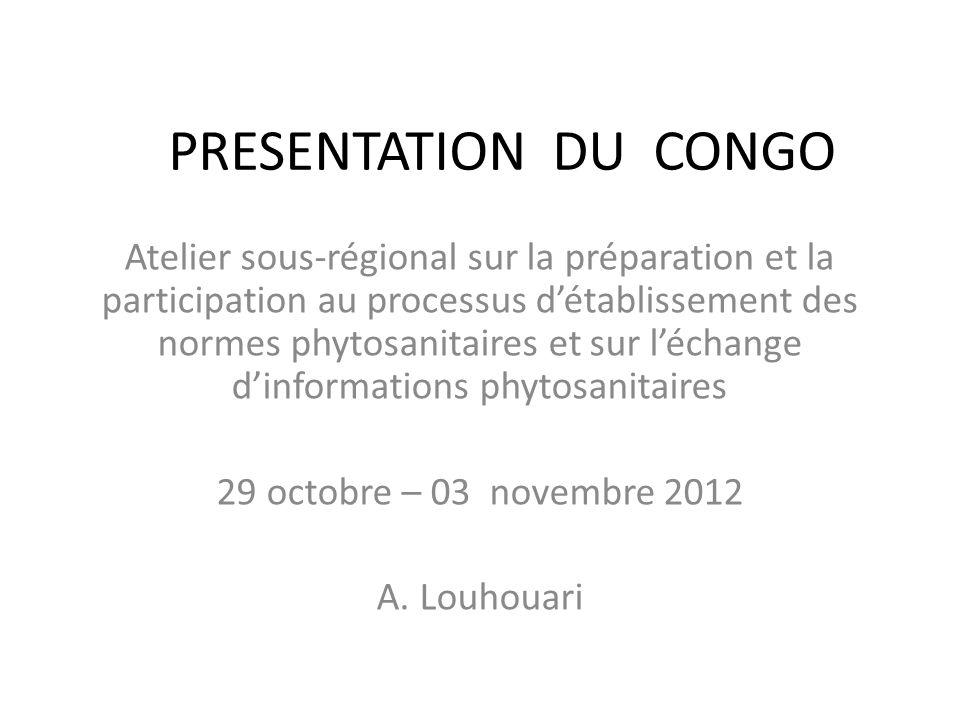PRESENTATION DU CONGO