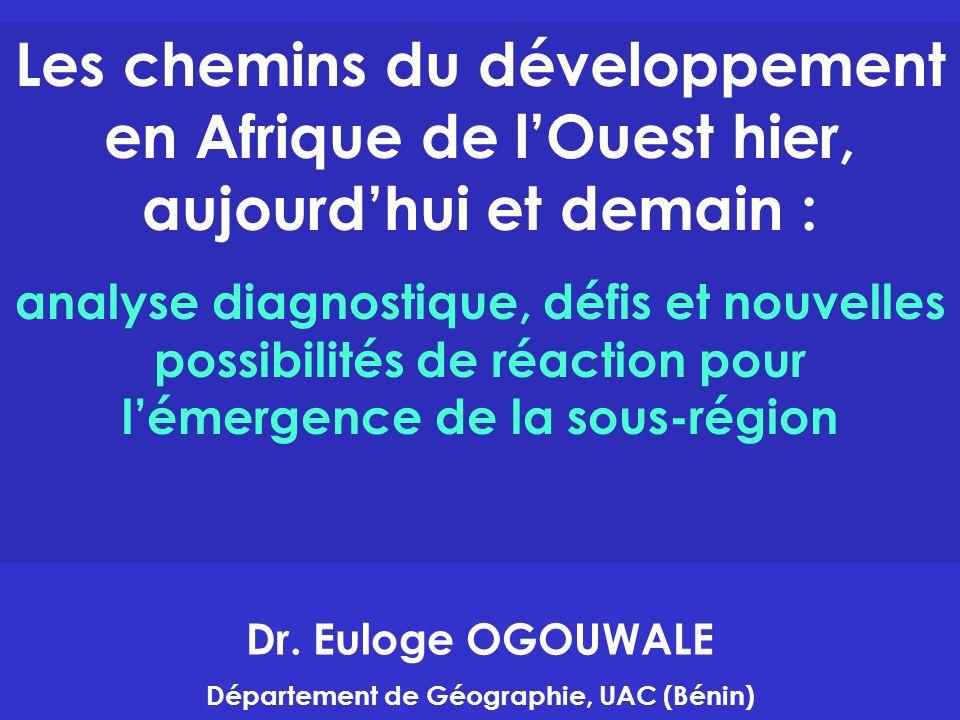 Département de Géographie, UAC (Bénin)