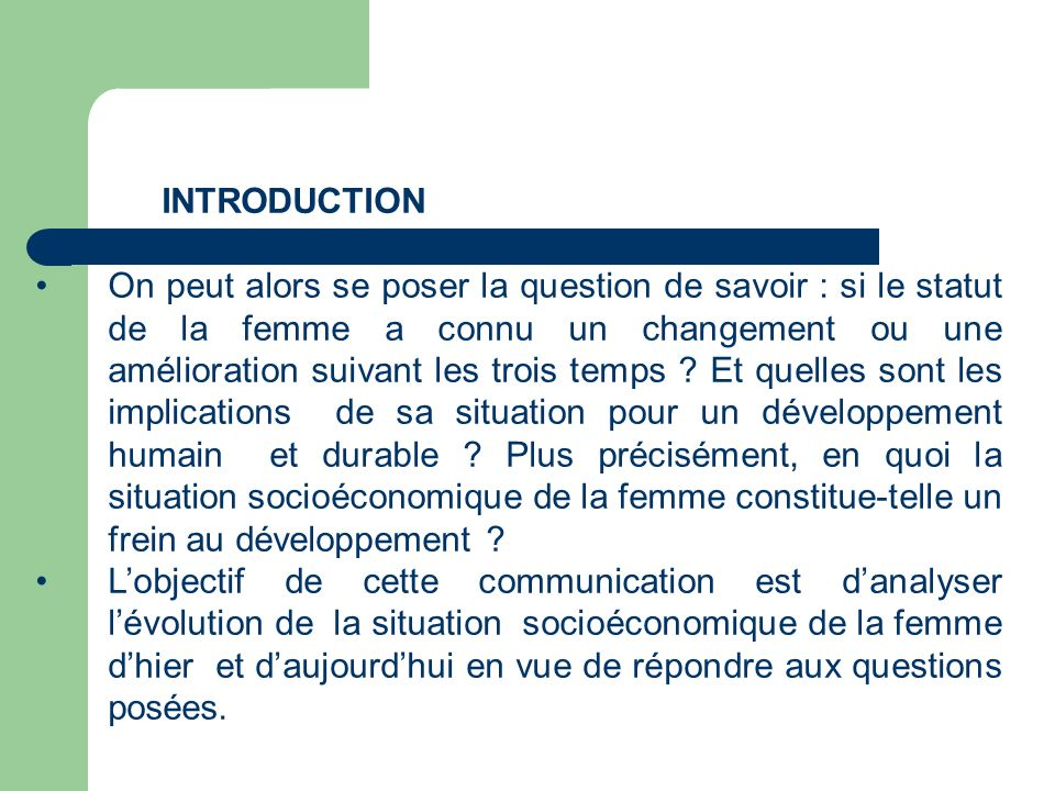 INTRODUCTION ge N°1.