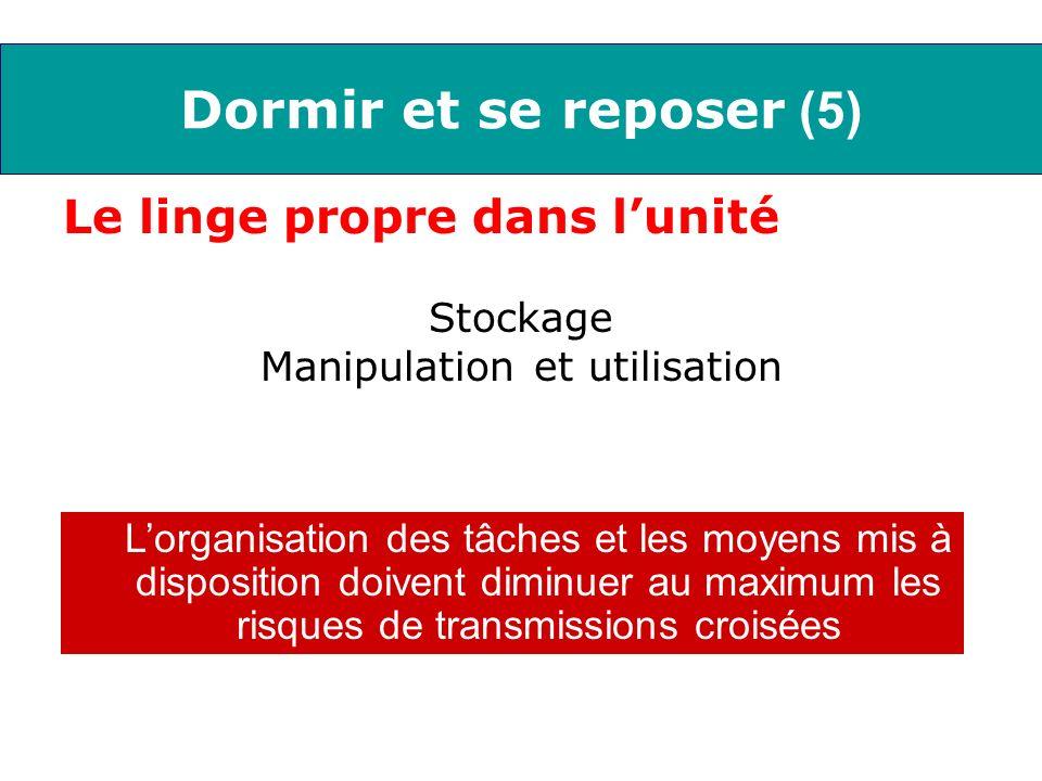 Manipulation et utilisation