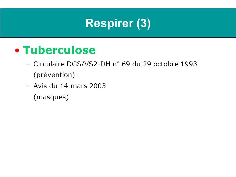 Respirer (3) Tuberculose