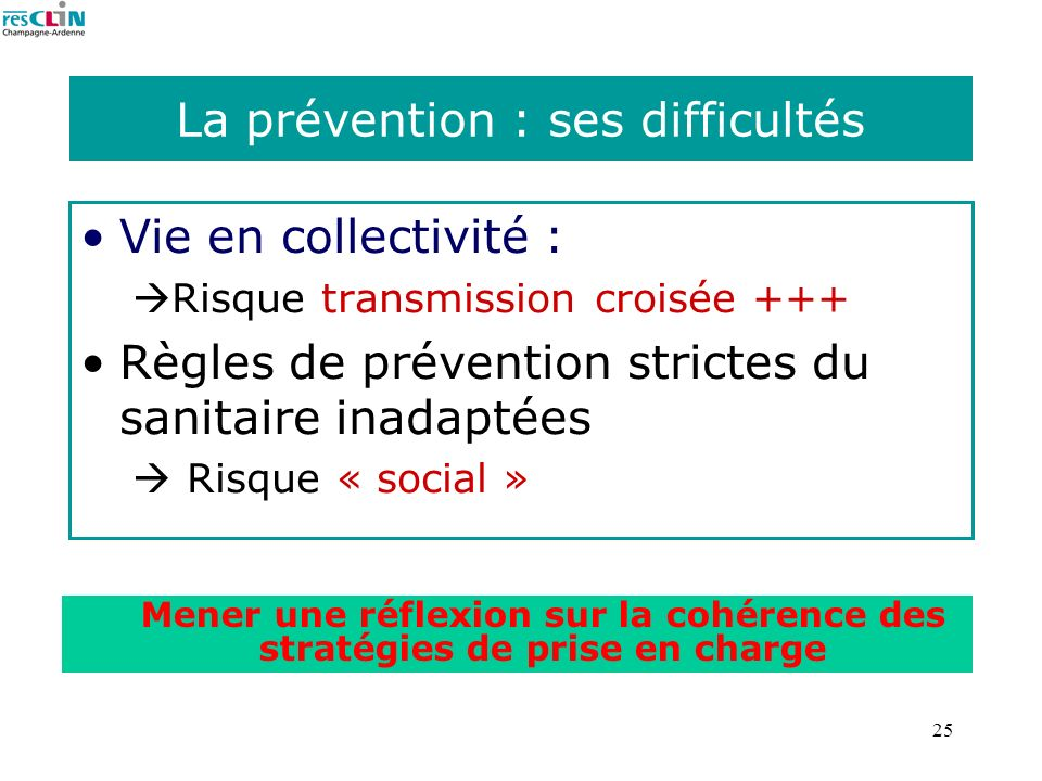 La prévention : ses difficultés