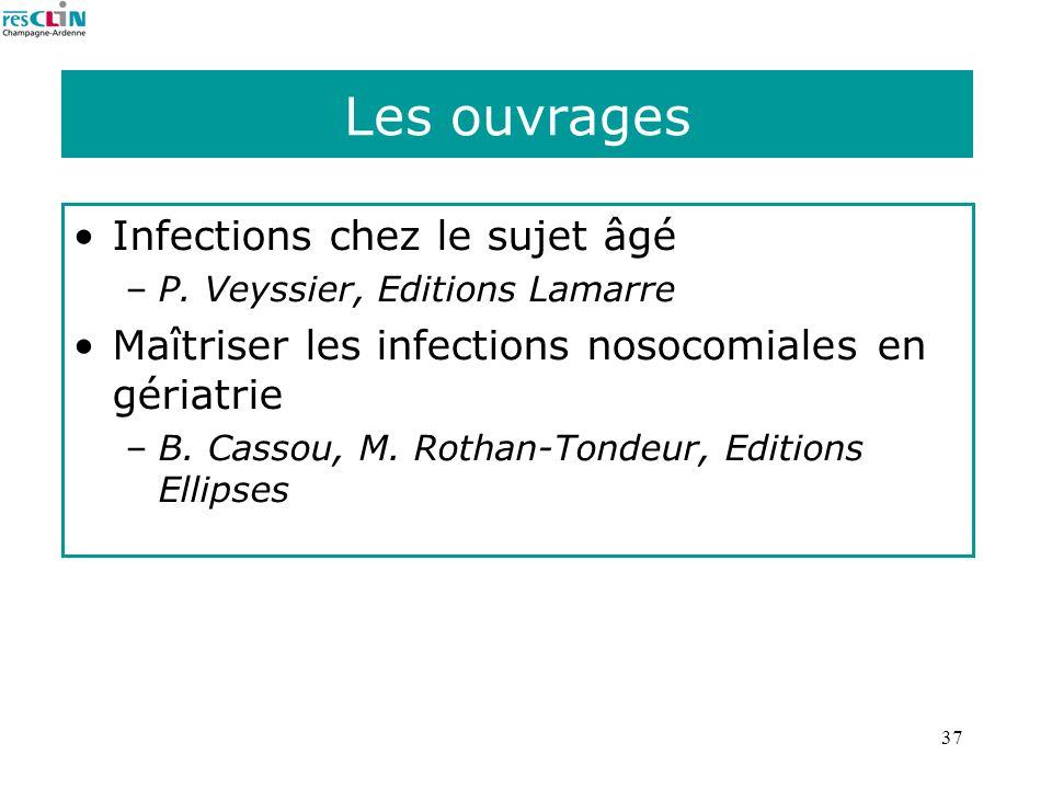 Les ouvrages Infections chez le sujet âgé