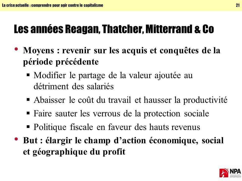 Les années Reagan, Thatcher, Mitterrand & Co