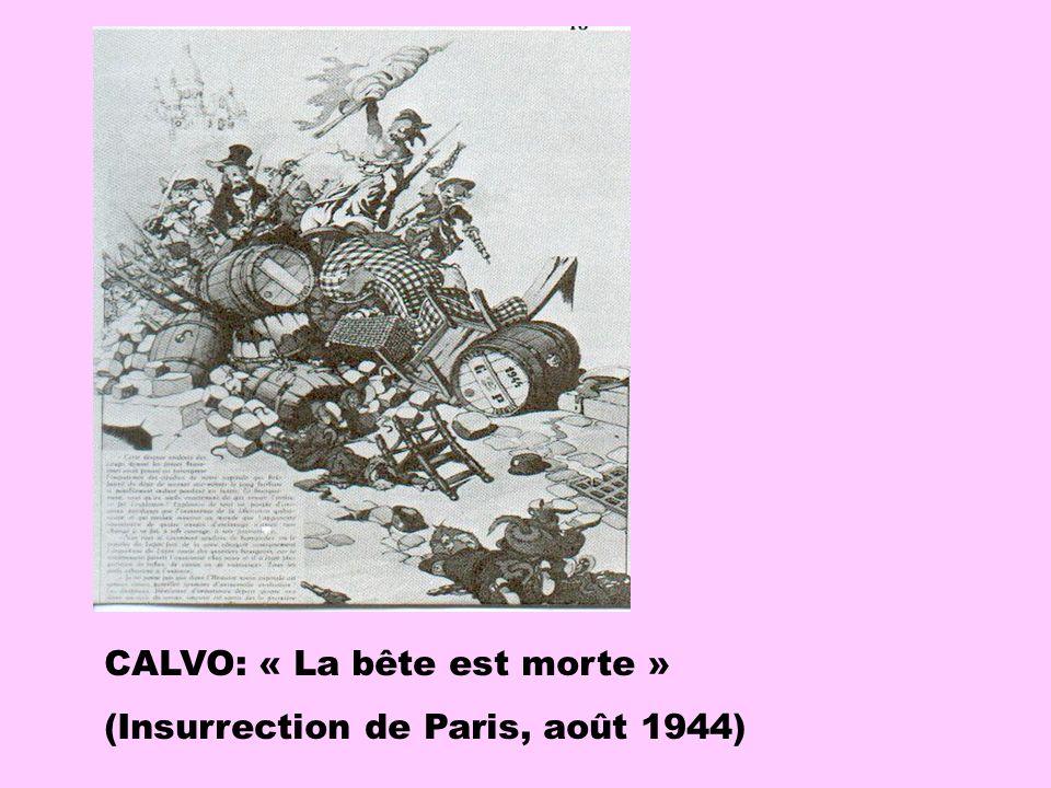 CALVO: « La bête est morte »