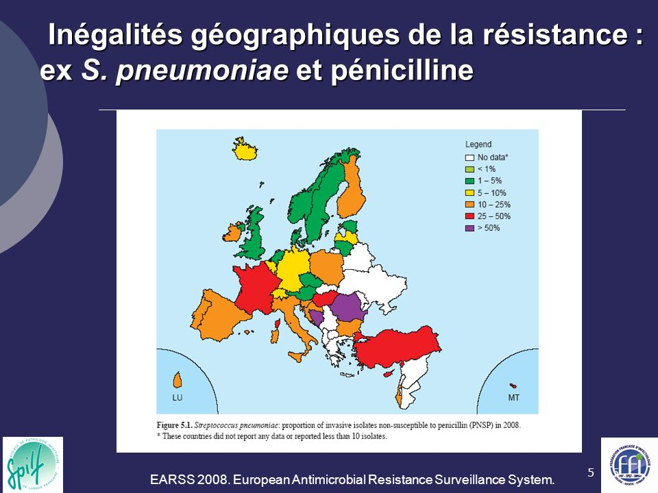 EARSS European Antimicrobial Resistance Surveillance System.