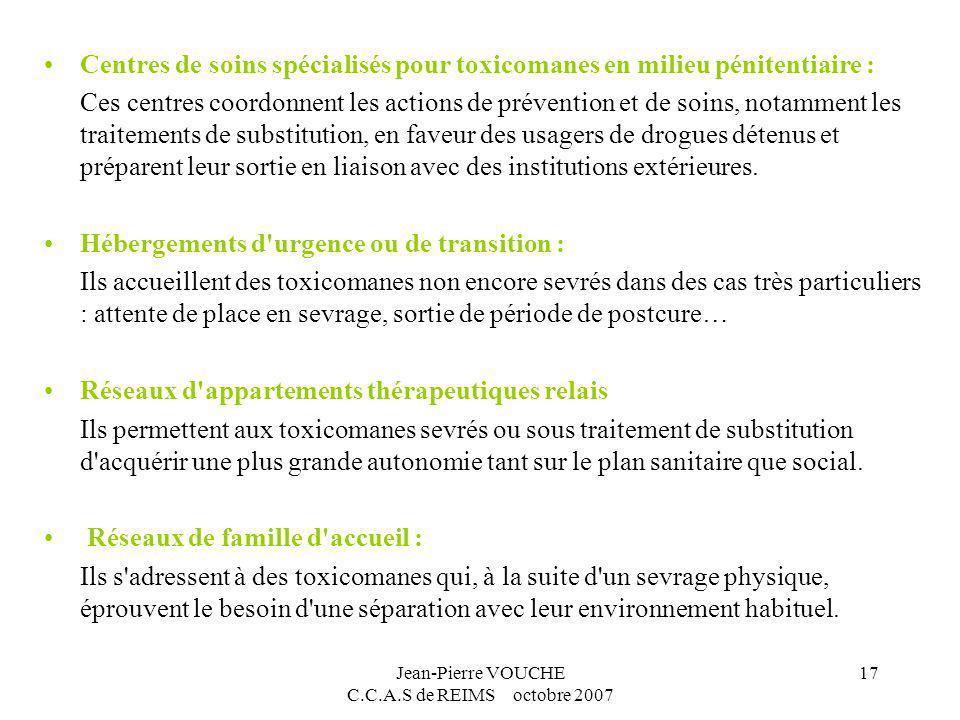Jean-Pierre VOUCHE C.C.A.S de REIMS octobre 2007