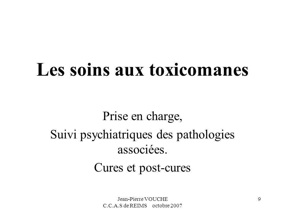 Les soins aux toxicomanes