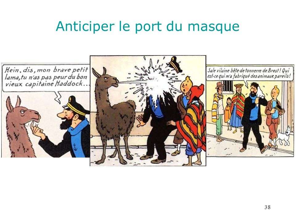 Anticiper le port du masque