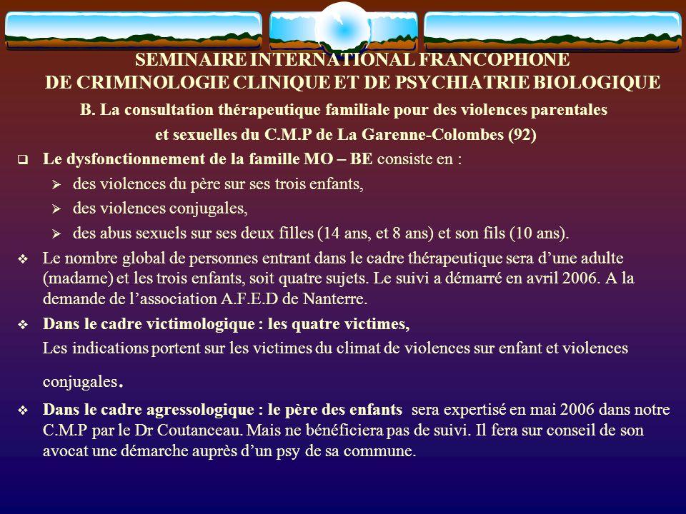 et sexuelles du C.M.P de La Garenne-Colombes (92)