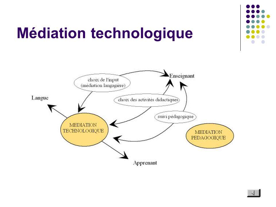 Médiation technologique