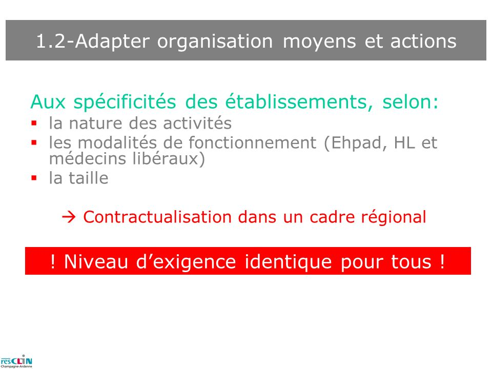 1.2-Adapter organisation moyens et actions