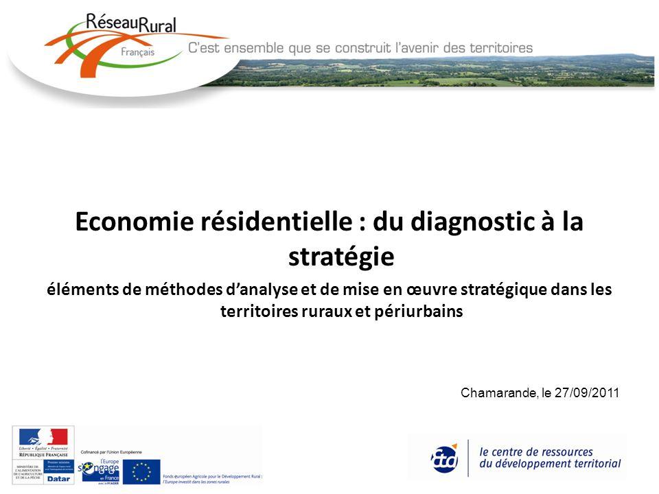 Economie résidentielle : du diagnostic à la stratégie