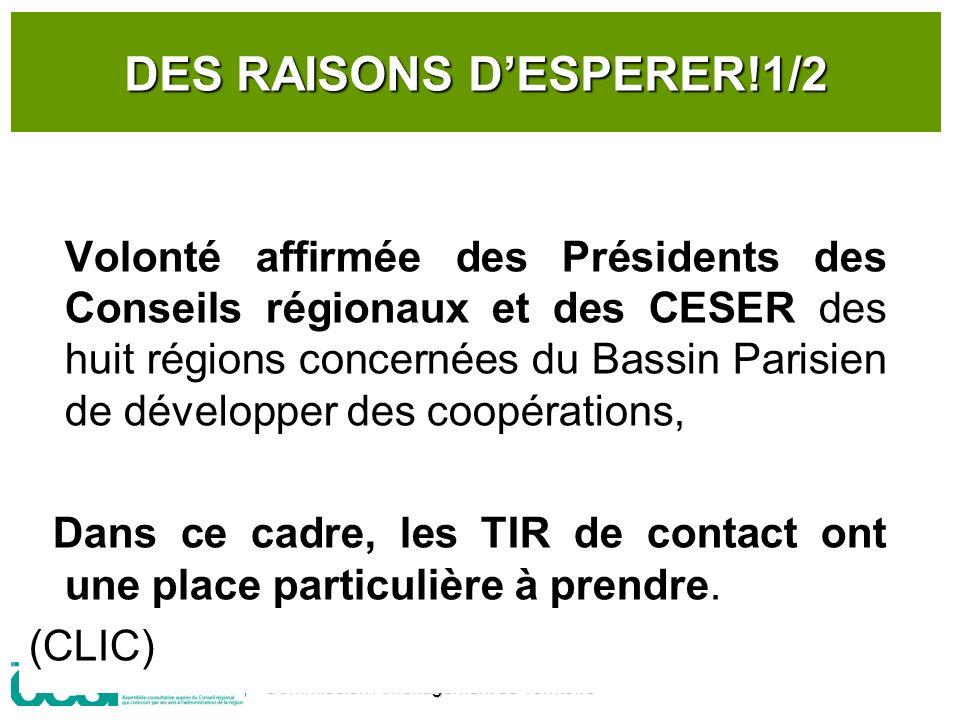 DES RAISONS D'ESPERER!1/2