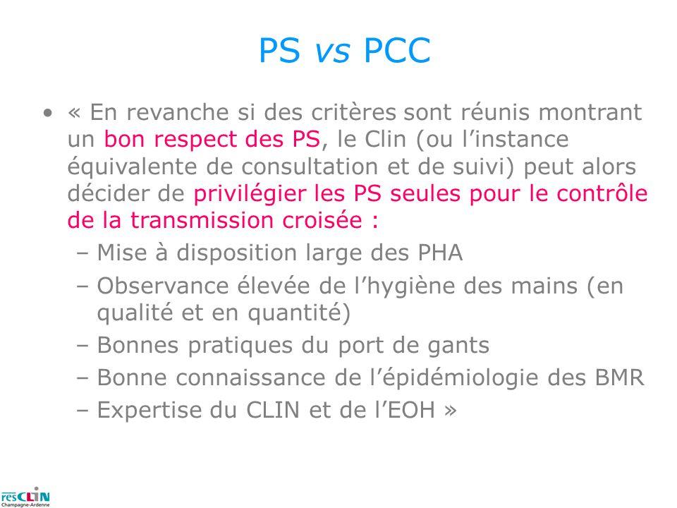 PS vs PCC