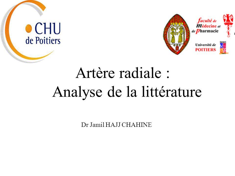 Analyse de la littérature