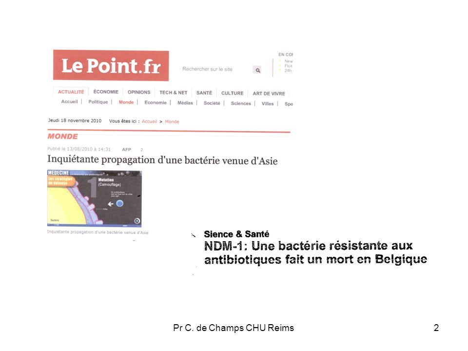 Pr C. de Champs CHU Reims