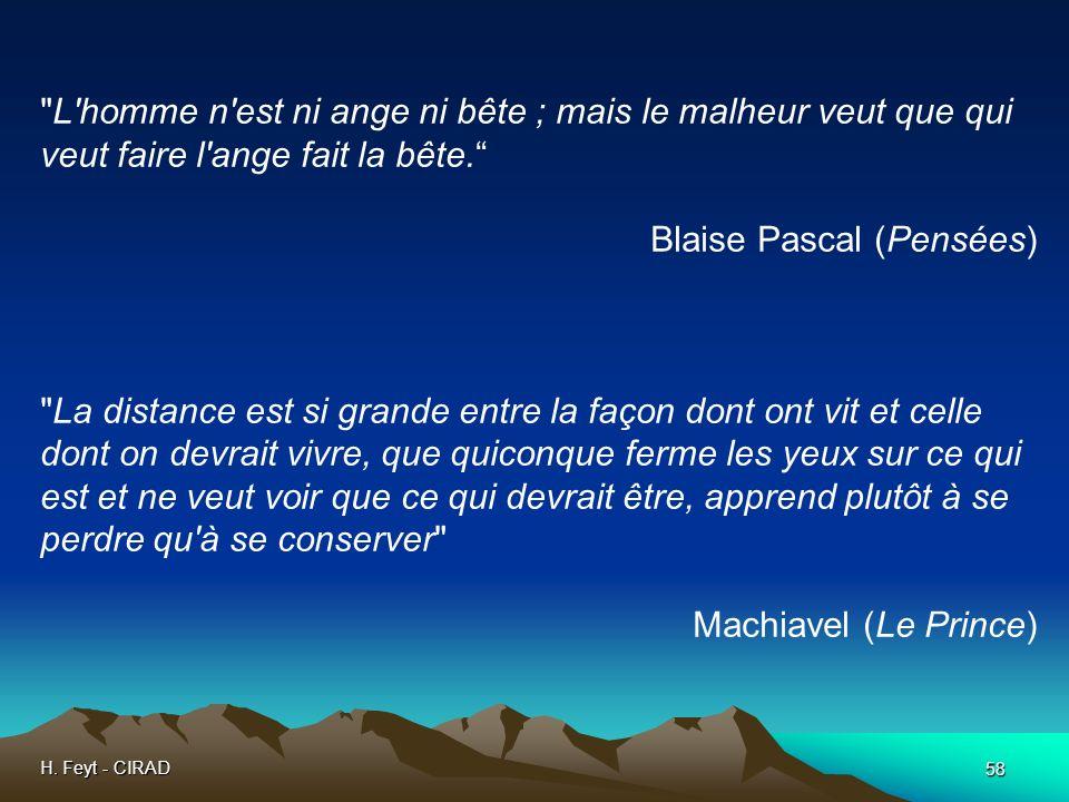 Blaise Pascal (Pensées)