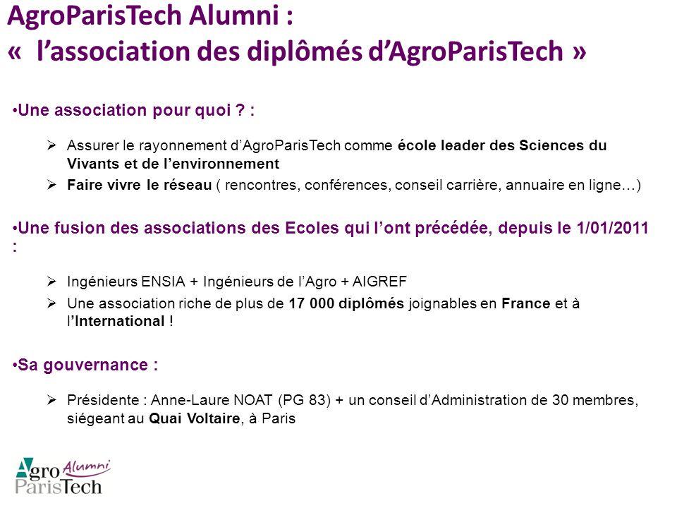 AgroParisTech Alumni : « l'association des diplômés d'AgroParisTech »