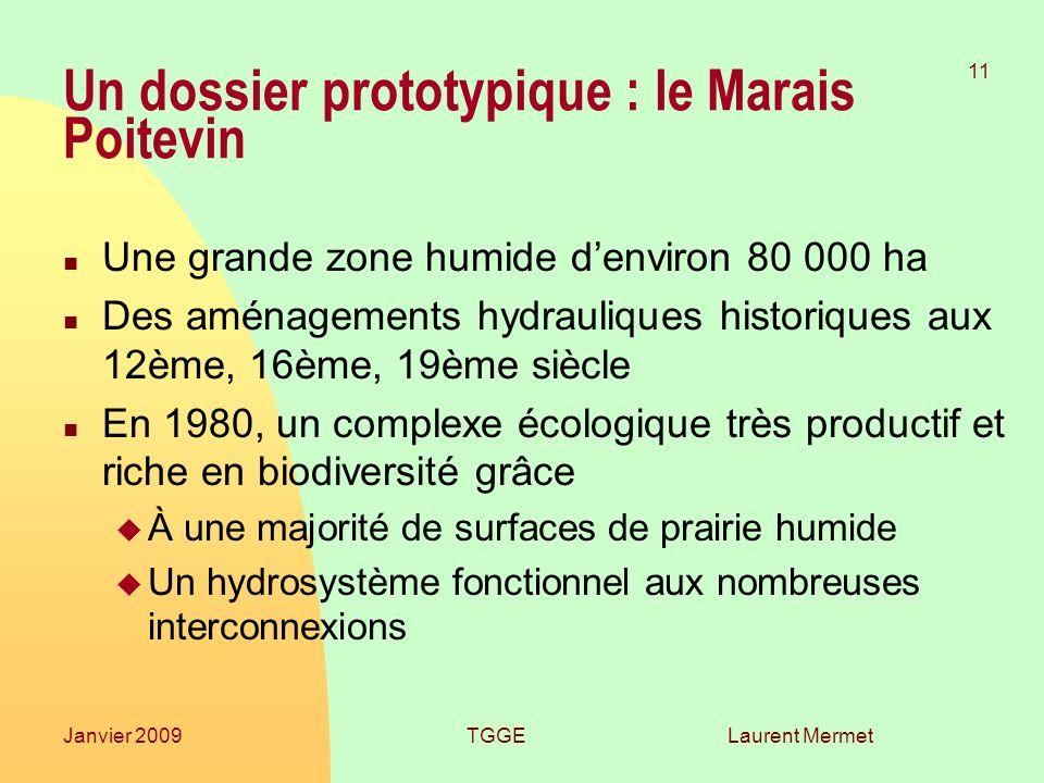 Un dossier prototypique : le Marais Poitevin