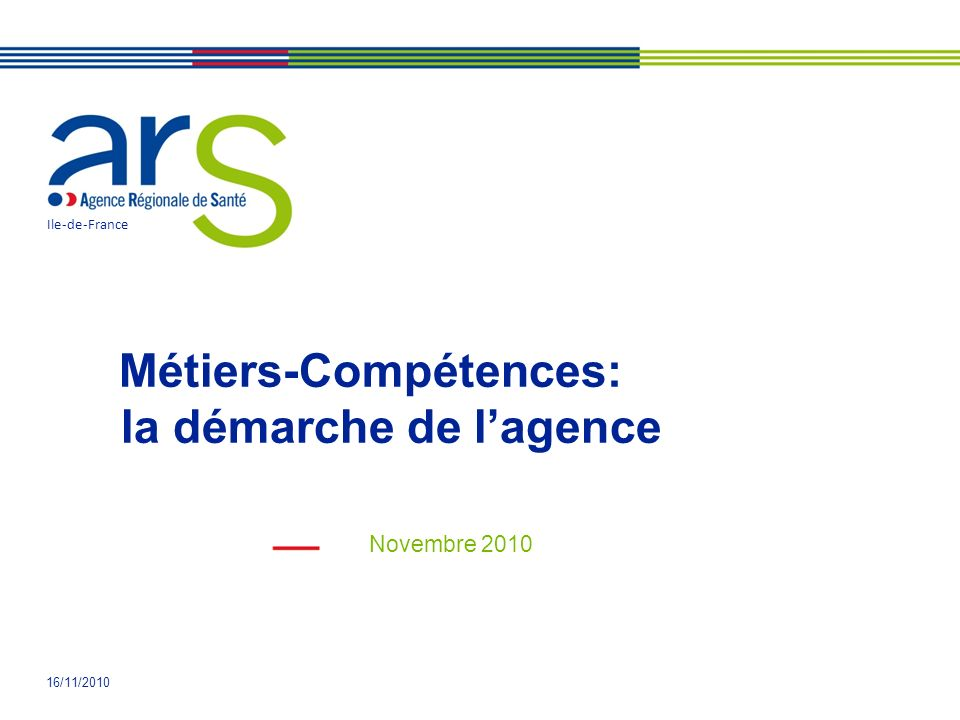 Métiers-Compétences: la démarche de l'agence