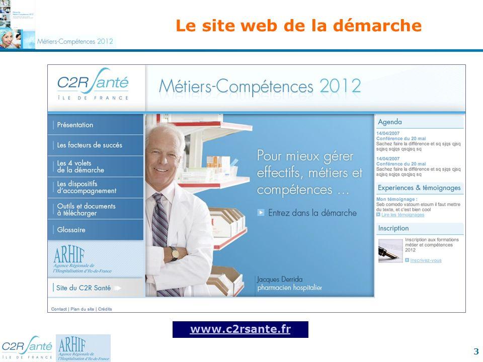Le site web de la démarche