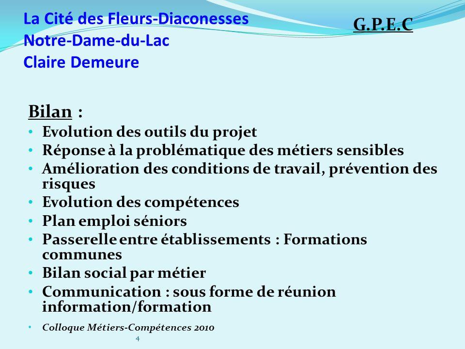 La Cité des Fleurs-Diaconesses Notre-Dame-du-Lac Claire Demeure