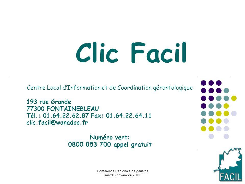 Clic Facil Numéro vert: 0800 853 700 appel gratuit
