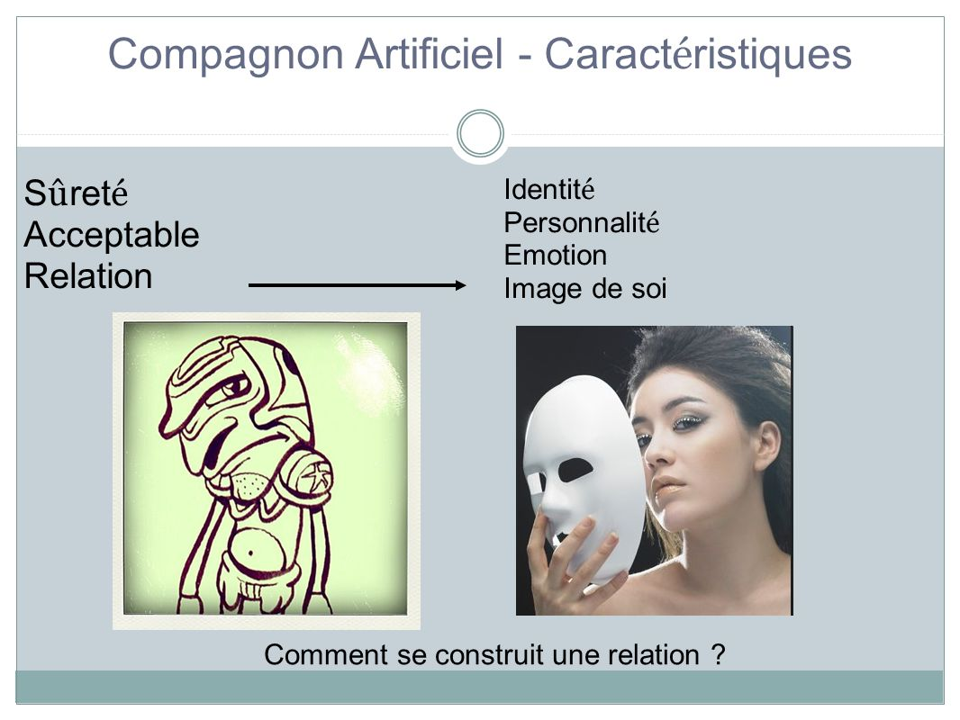 Compagnon Artificiel - Caractéristiques