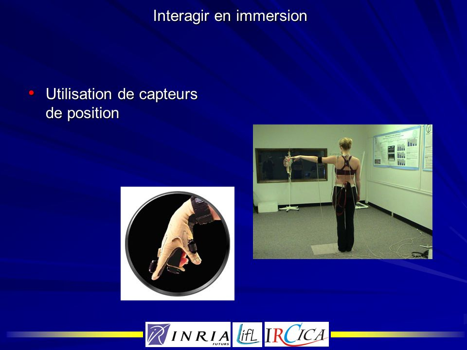 Interagir en immersion