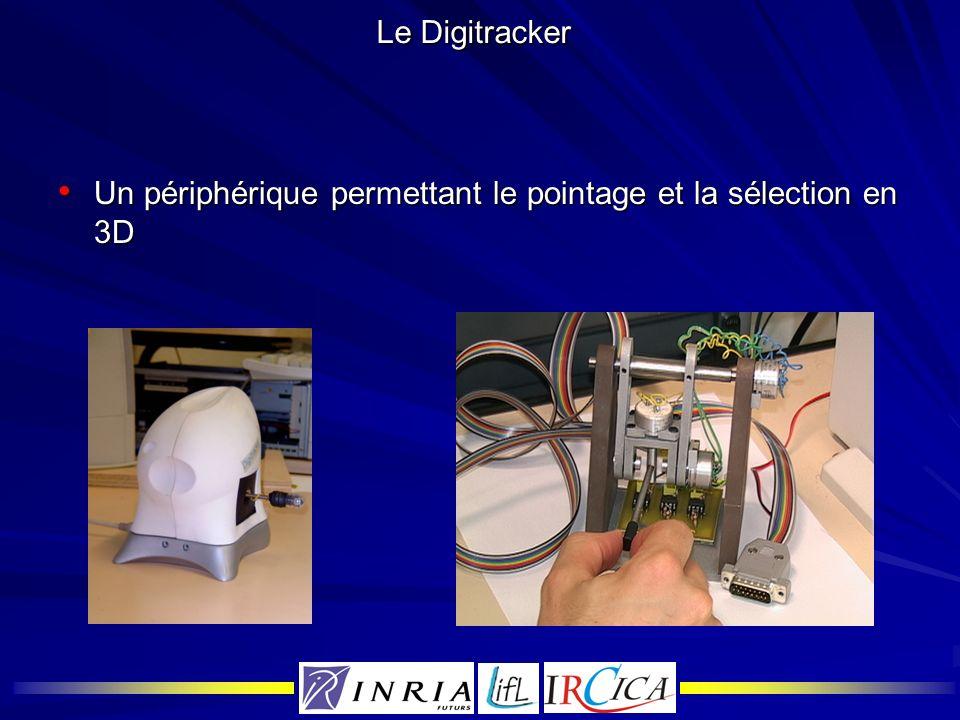 Le Digitracker Un périphérique permettant le pointage et la sélection en 3D