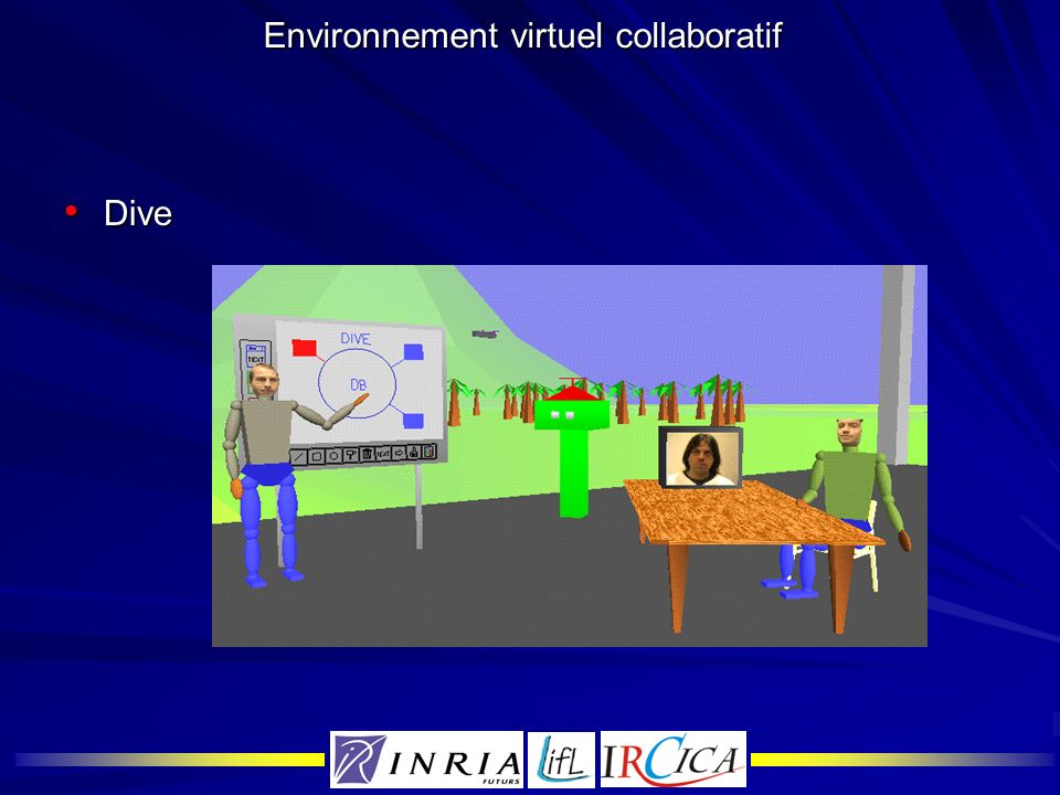 Environnement virtuel collaboratif
