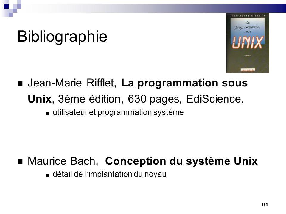 Bibliographie Jean-Marie Rifflet, La programmation sous