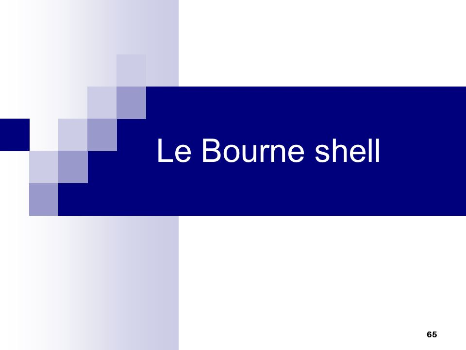 Le Bourne shell