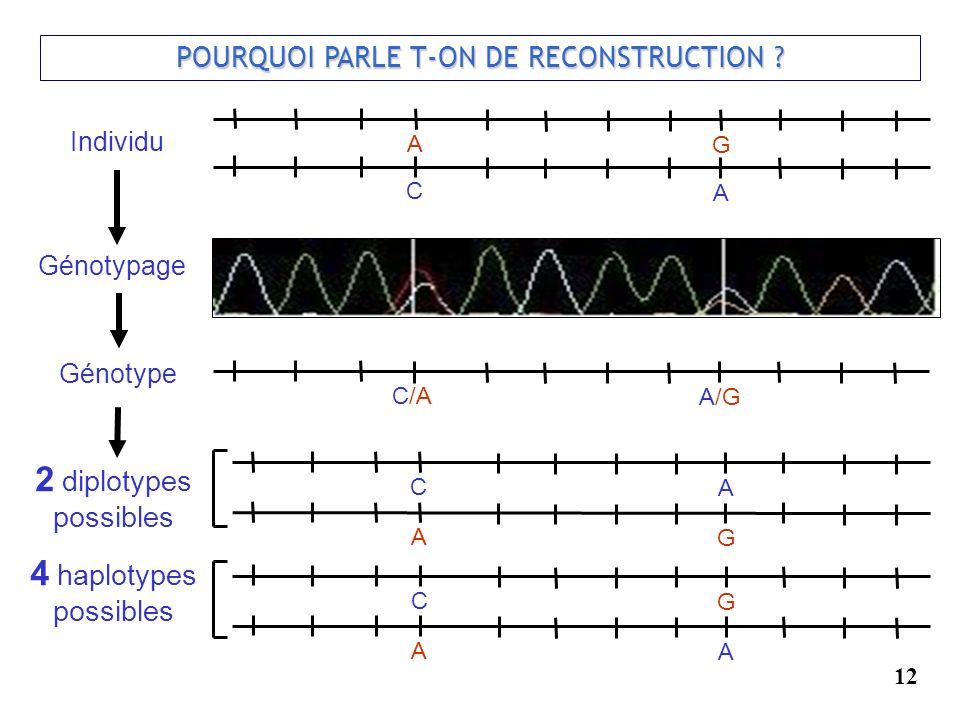 POURQUOI PARLE T-ON DE RECONSTRUCTION