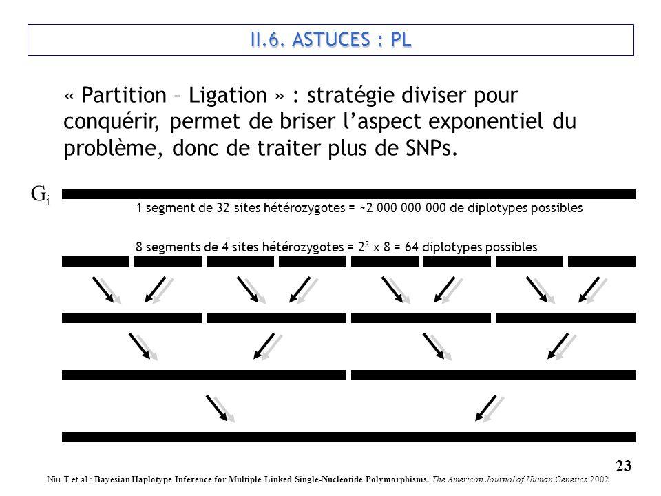 II.6. ASTUCES : PL