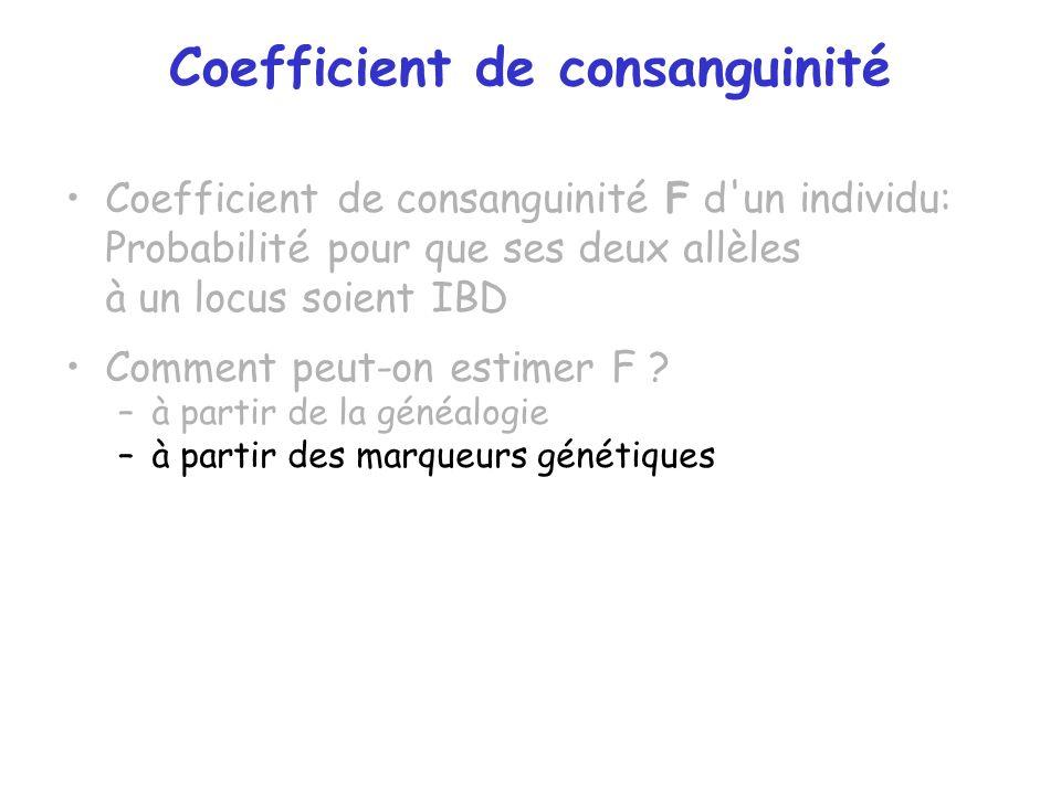 Coefficient de consanguinité