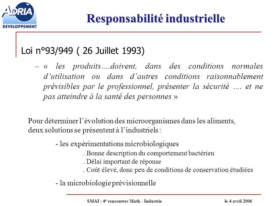 Responsabilité industrielle