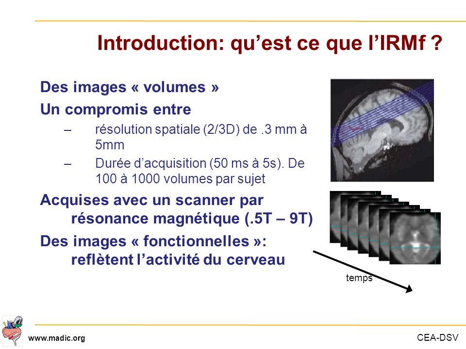 Introduction: qu'est ce que l'IRMf