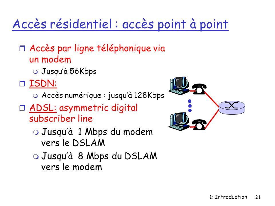 Sommaire objectifs du cours avoir une vue d ensemble du r seau ppt t l charger - Avoir internet sans ligne telephonique ...