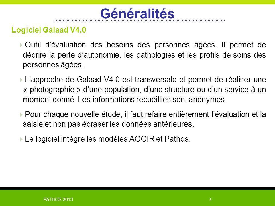 Généralités Logiciel Galaad V4.0