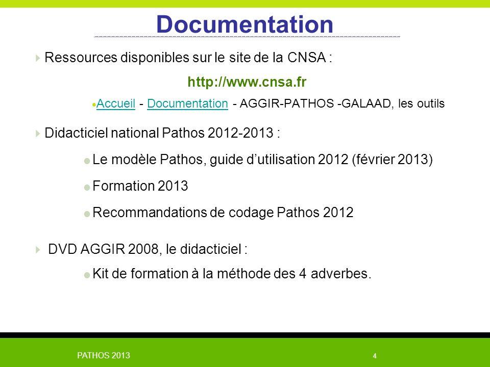 Documentation Ressources disponibles sur le site de la CNSA :